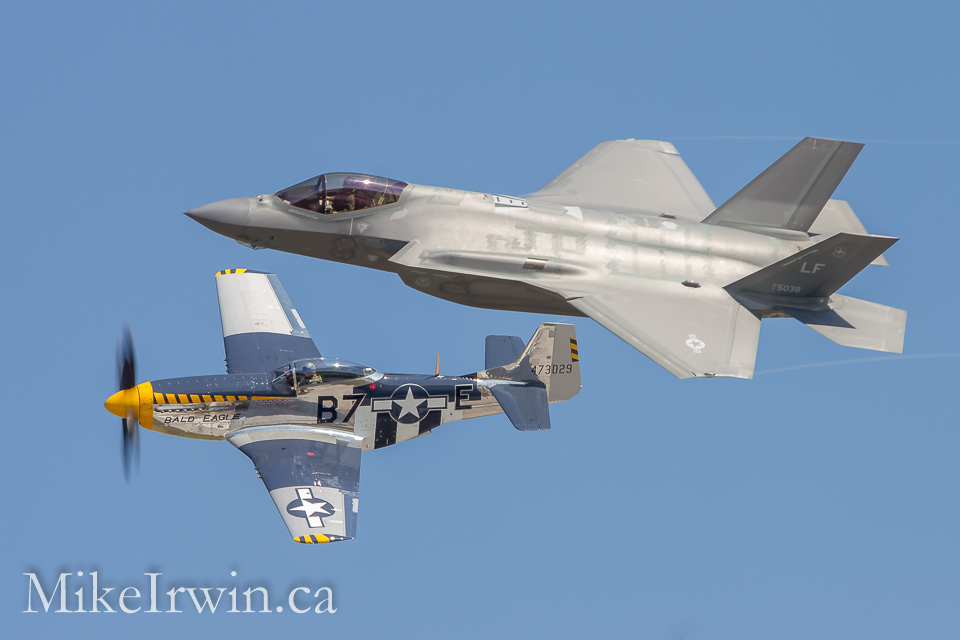 F-35 and P-51